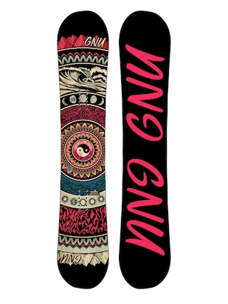 Deska snowboardowa Gnu Asym Ladies Choice C2X Wmn (black)