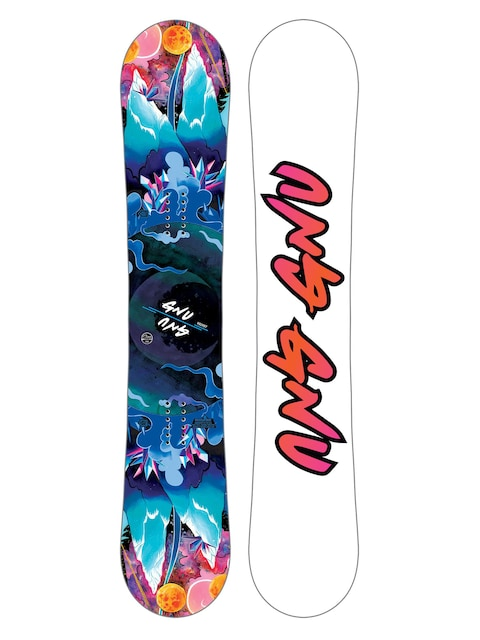 Deska snowboardowa Gnu Asym Velvet C2E Wmn (multi)