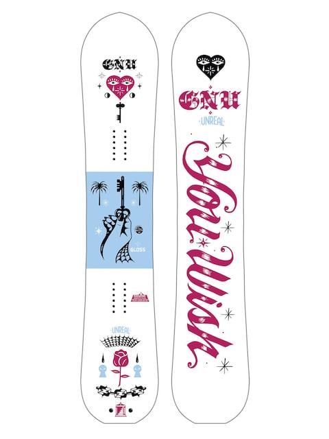 Deska snowboardowa Gnu Gloss C2E Wmn