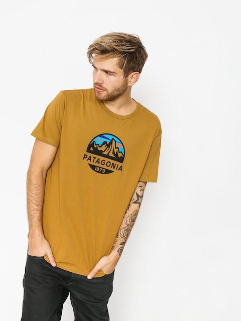 T-shirt Patagonia Fitz Roy Scope Organic (kastanos brown)
