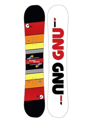 Deska snowboardowa Gnu Asym Rider'S Choice C2X (white)