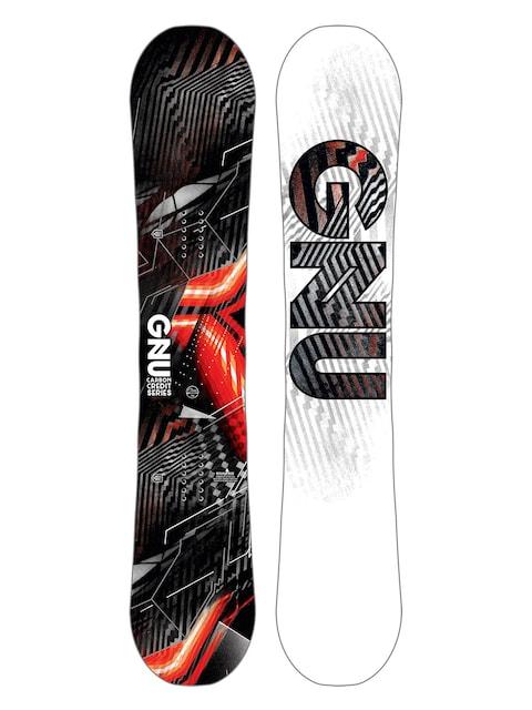 Deska snowboardowa Gnu Asym Carbon Credit Btx (multi)