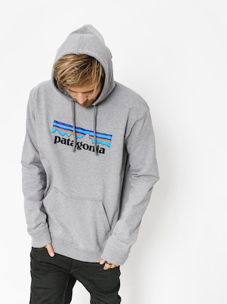 Bluza z kapturem Patagonia Logo Uprisal HD (gravel heather)