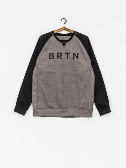 Bluza aktywna Burton Crown Bndd Crew (htrmnt/trublk)