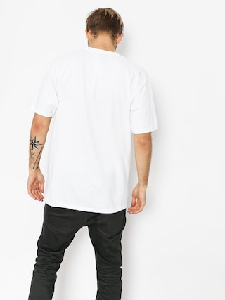 T-shirt HUF Essentials Box Logo (white)