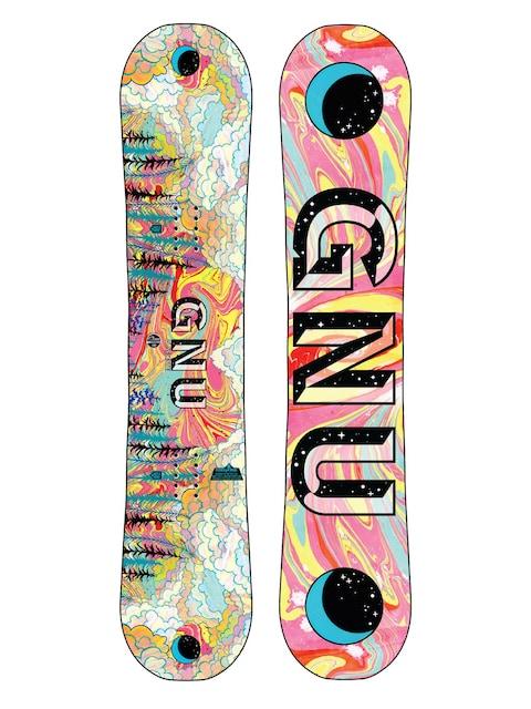 Deska snowboardowa Gnu Asym Playdate Btx (multi)