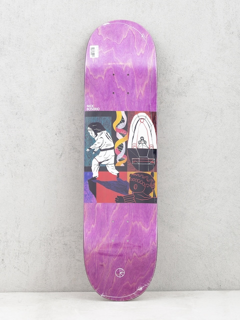 Deck Polar Skate Nick Boserio Alien Encounter (violet)