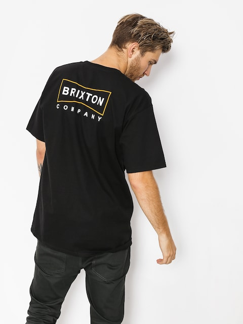T-shirt Brixton Wedge Stt (black)