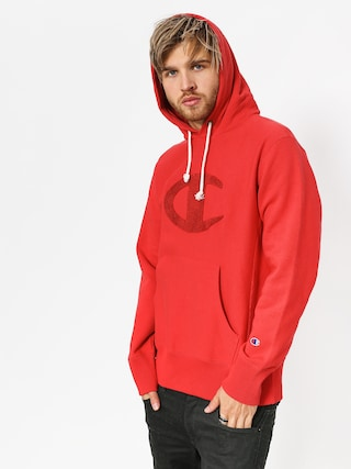 Bluza z kapturem Champion Reverse Weave Hooded Sweatshirt HD (amb)