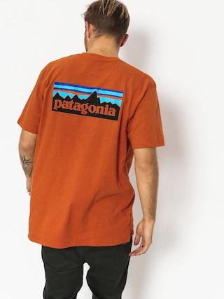 T-shirt Patagonia Logo Responsibili (marigold)