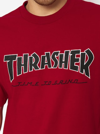 T-shirt Independent x Thrasher Ttg (cardinal red)