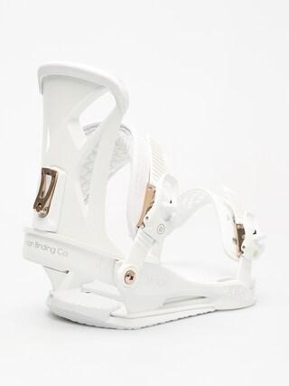 Wiązania snowboardowe Union Juliet Wmn (white)