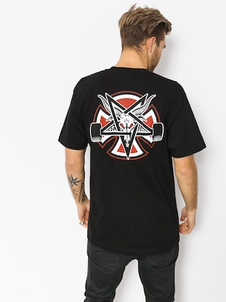 T-shirt Independent x Thrasher Pentagram Cross (black)