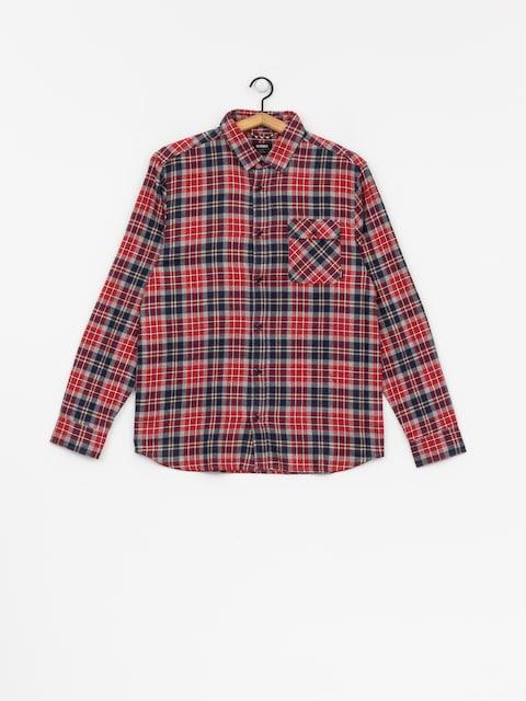 Koszula Etnies Axel Ls (red/navy)