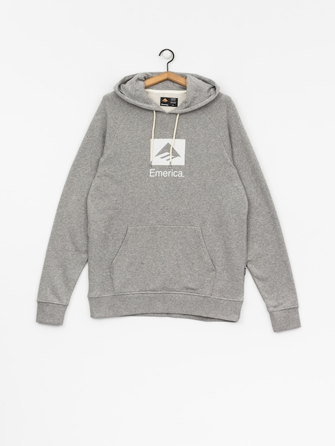 Bluza z kapturem Emerica Brand Combo HD (grey/heather)