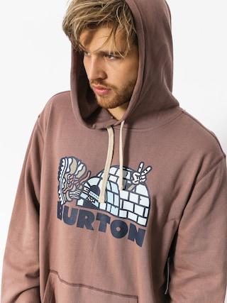 Bluza z kapturem Burton Cupajo Org HD (antler)