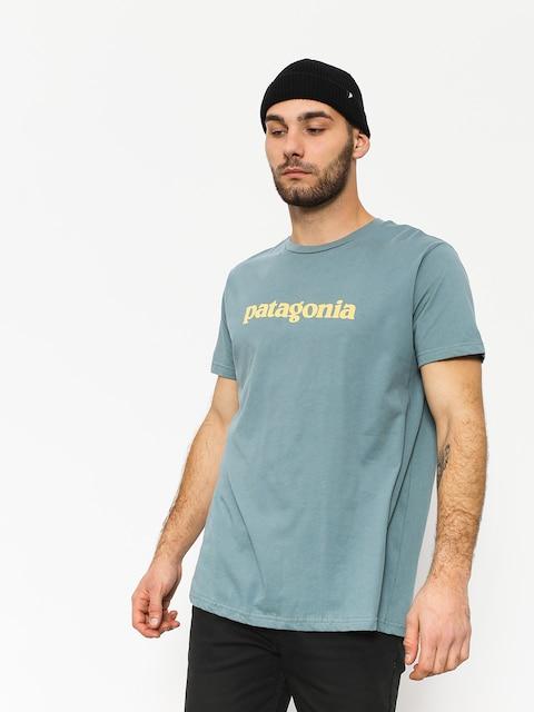 T-shirt Patagonia Text Logo Organic