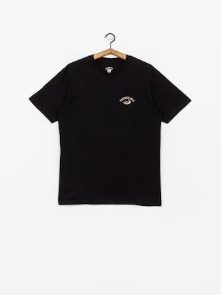 T-shirt Turbokolor Floral (black)