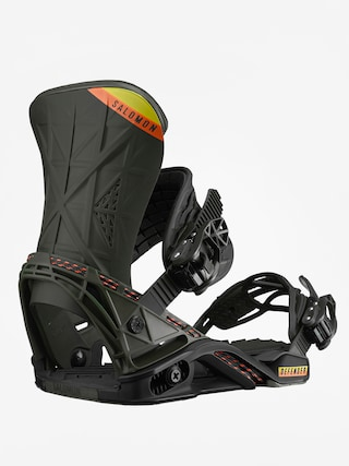 Wiązania snowboardowe Salomon Defender (black/olive)