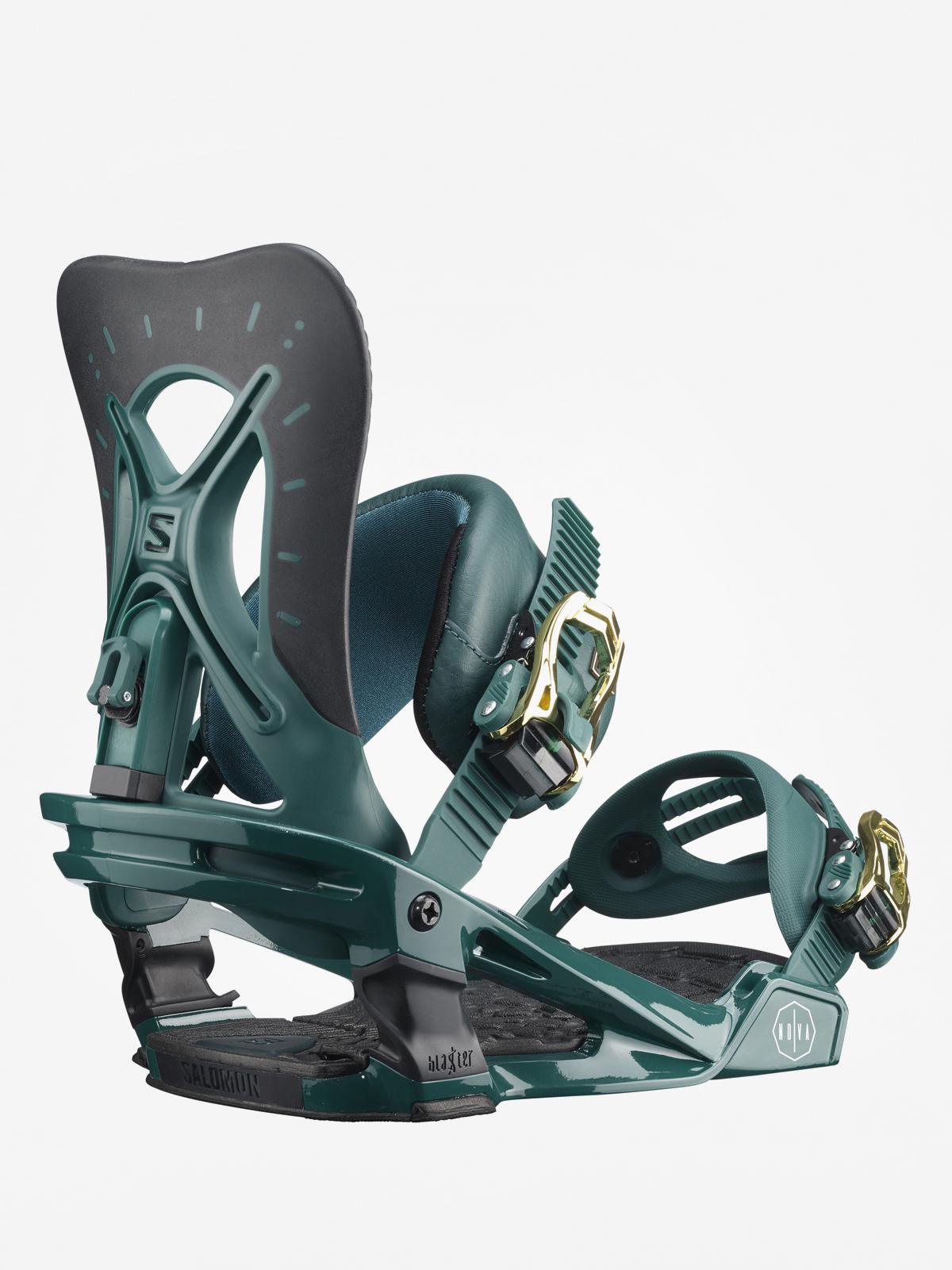 Wiu0105zania snowboardowe Salomon Nova Wmn (teal green)
