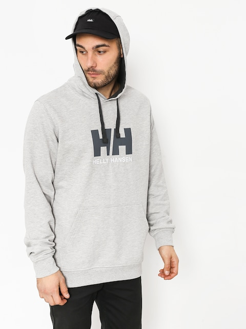 Bluza z kapturem Helly Hansen Logo HD (grey melange)