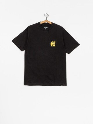 T-shirt Etnies Icon Pocket (black/gold)