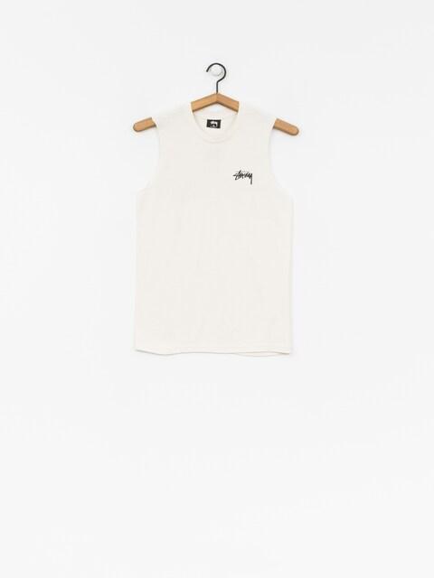 T-shirt Stussy Stock Raw Muscle Wmn (stone)