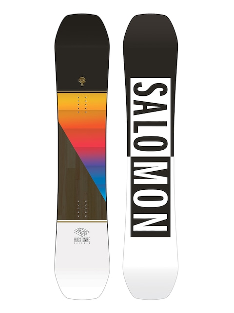 Deska snowboardowa Salomon Huck Knife (black/white)