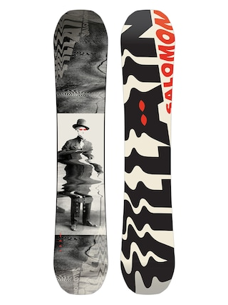 Deska snowboardowa Salomon The Villain (white/black/red)