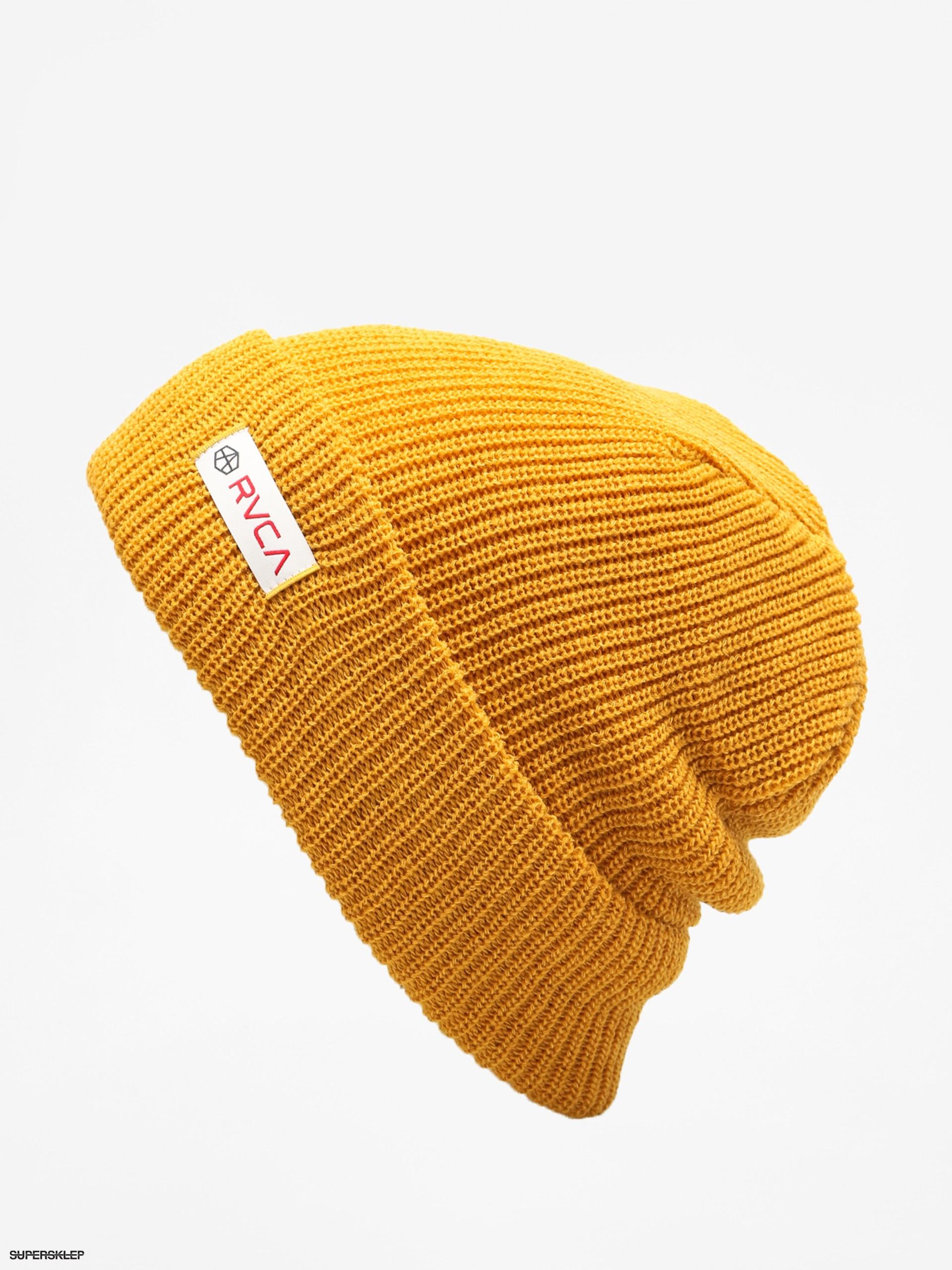 38431518f6b Czapka zimowa RVCA Andrew Reynolds Beanie (mustard)