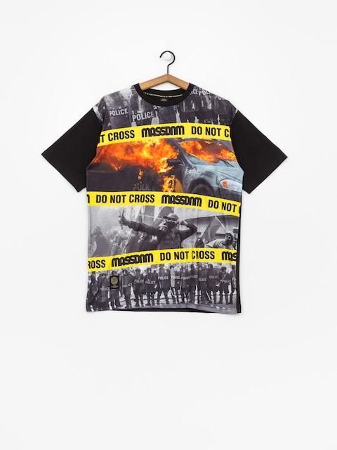 T-shirt MassDnm Do Not Cross (black)