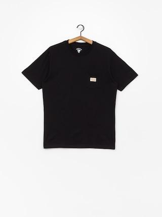 T-shirt Turbokolor Tag Pocket (black)