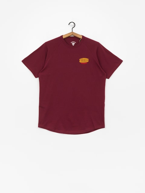 T-shirt Turbokolor Vintage Logo (burgundy)