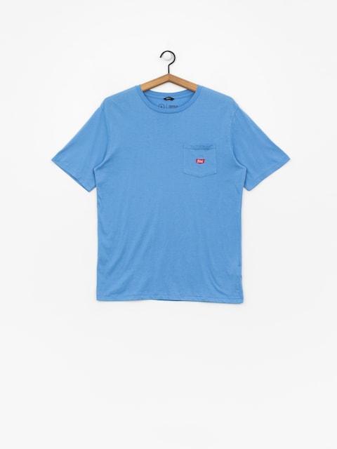 T-shirt Brixton Stith Wl Pkt (washed royal)