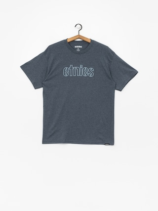 T-shirt Etnies Mod Stencil (navy/heather)