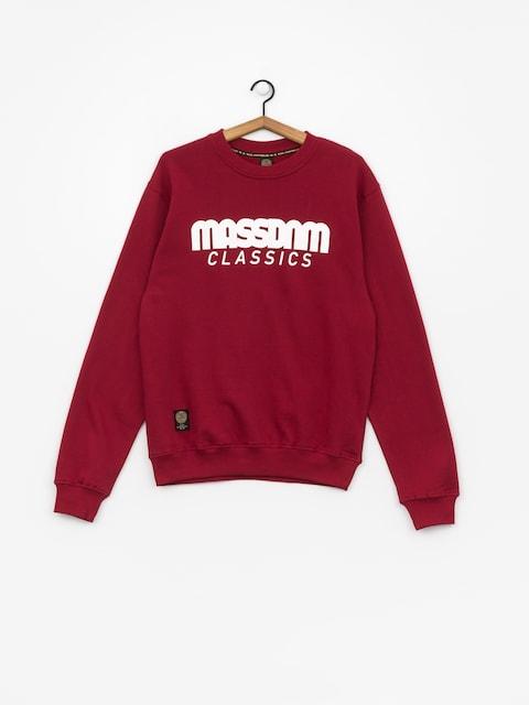Bluza MassDnm Classics (claret)