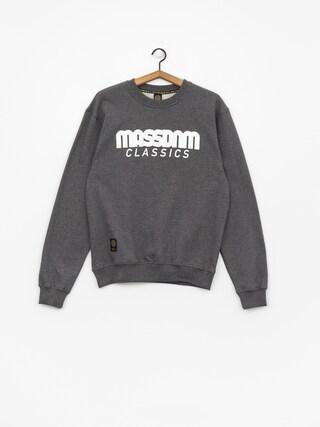 Bluza MassDnm Classics (dark heather grey)
