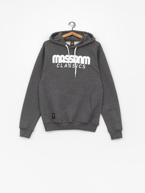 Bluza z kapturem MassDnm Classics HD (dark heather grey)