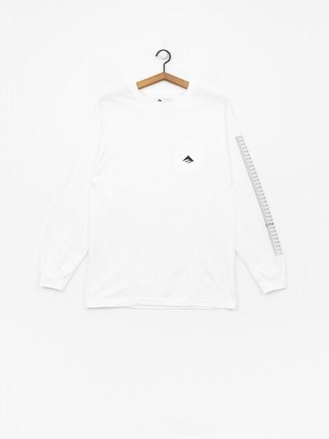 Longsleeve Emerica Team Pocket (white)