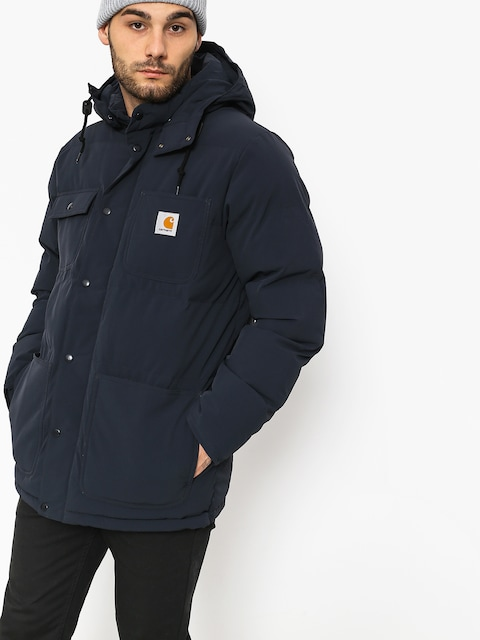 Kurtka Carhartt WIP Alpine Coat (dark navy/hamilton brown)