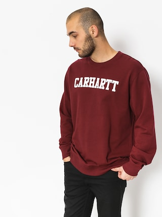 Bluza Carhartt WIP College (mulberry white)