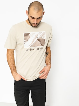 T-shirt Burton Make Tracks (pelican)