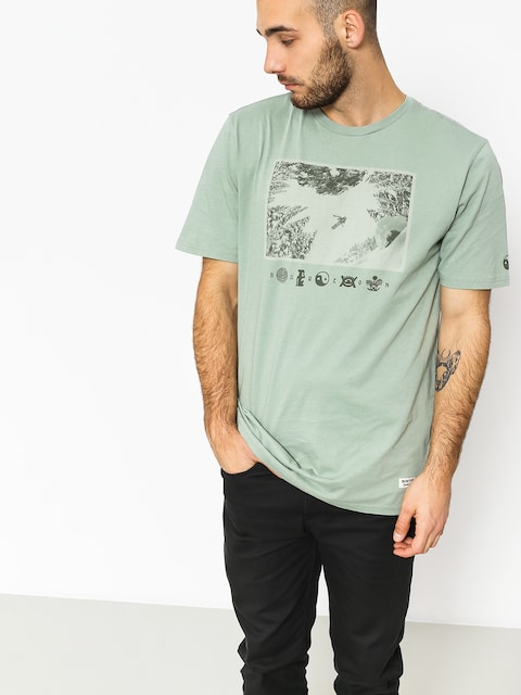 T-shirt Burton Make Tracks