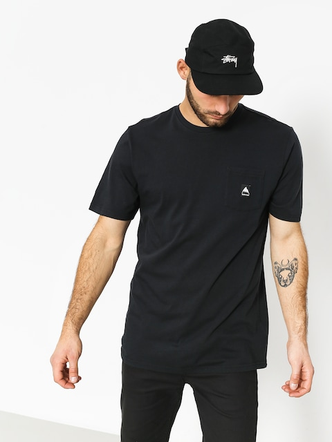 T-shirt Burton Colfax (true black)