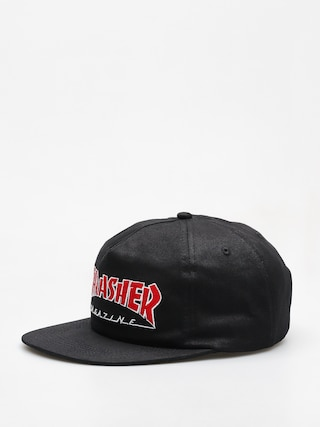 Czapka z daszkiem Thrasher Outlined Snapback (black)