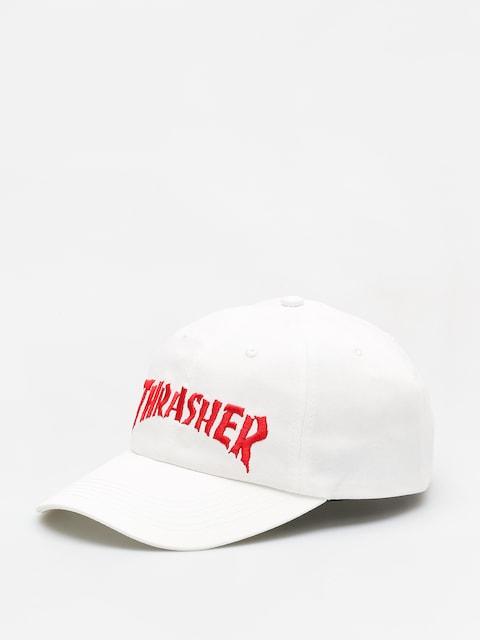 Czapka z daszkiem Thrasher Nackface Invert Old Timer (white)