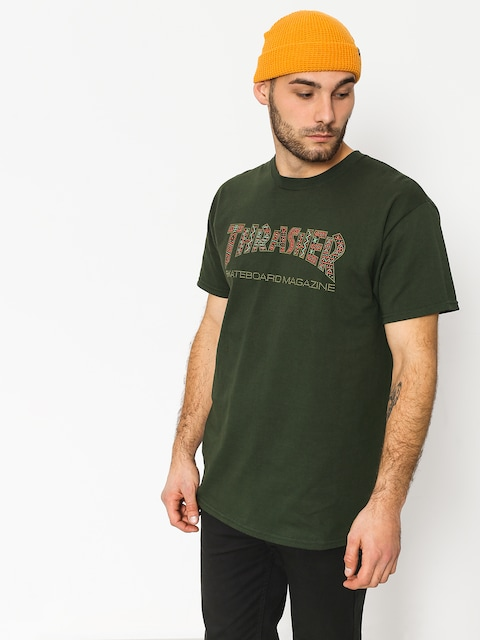 T-shirt Thrasher Davis Forest (green)