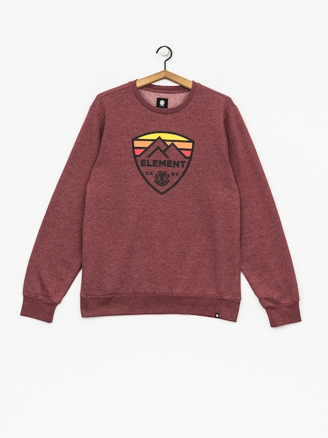 Bluza Element Guard Crew (ruby wine ht)