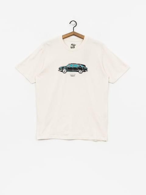 T-shirt Turbokolor Tatra 58 (ecru)