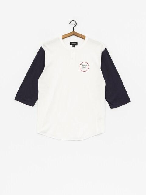 T-shirt Brixton Wheeler 3/4 Slv Hnly (off white/navy)